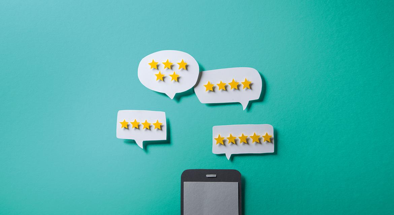 Bewertungsdashboard – Überblick über alle Online-Bewertungen