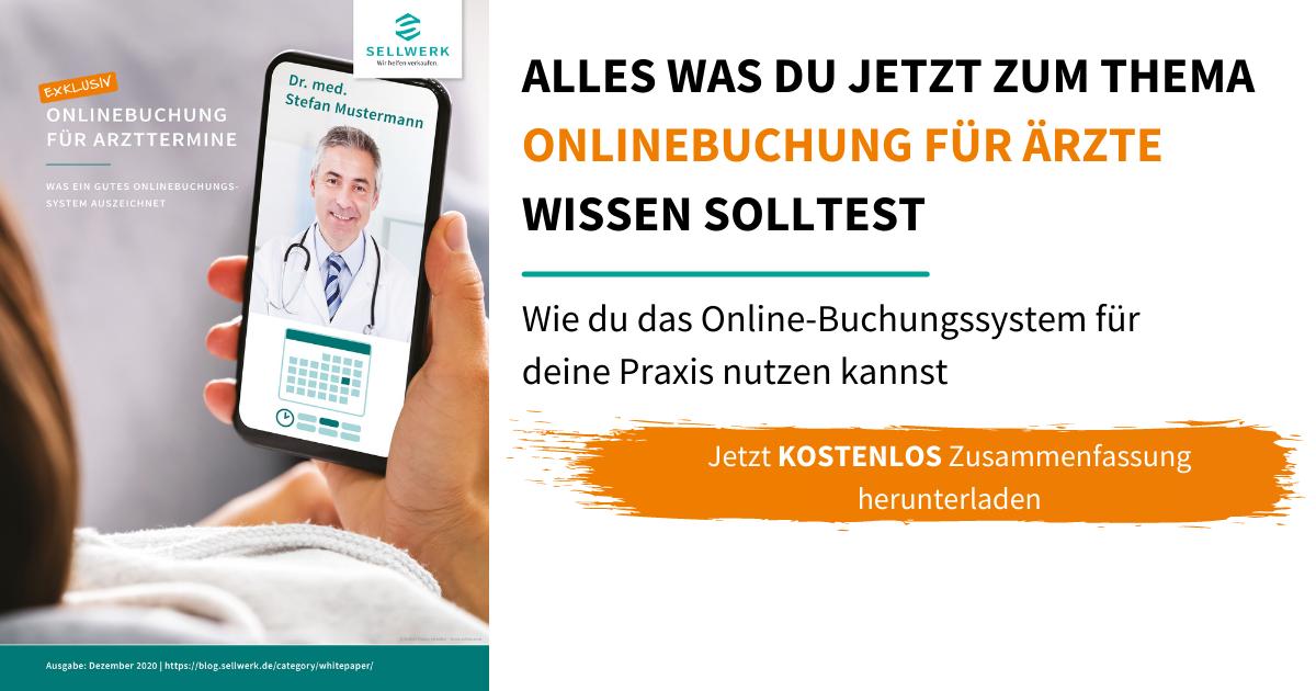Whitepaper Onlinebuchung für Ärzte: Terminplanung  Praxis