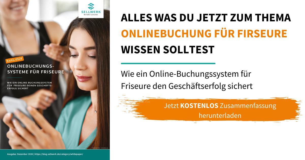 Whitepaper Onlinebuchung für Friseure: Erfolg sichern