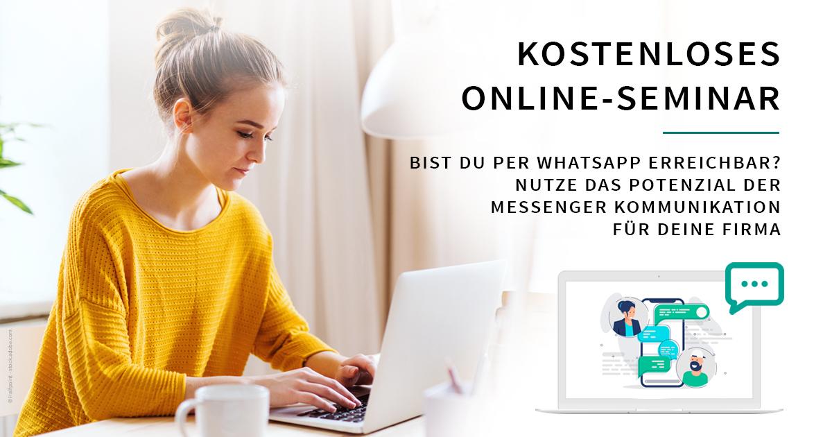 Messenger Kommunikation für deine Firma – Online Seminar