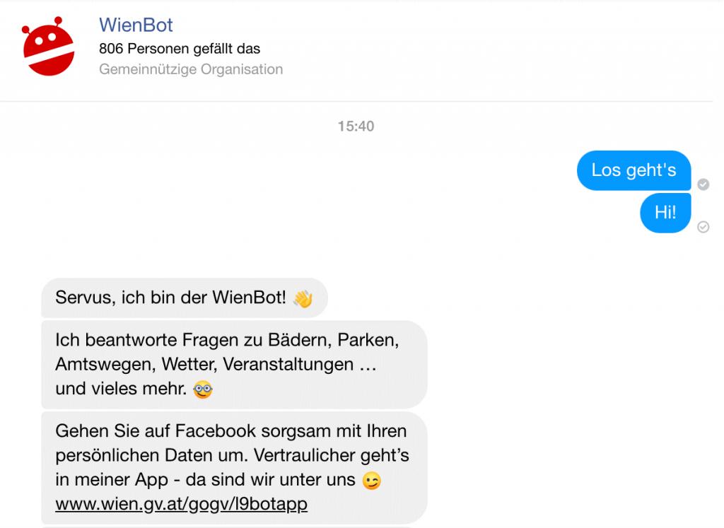 WienBot Chatbot