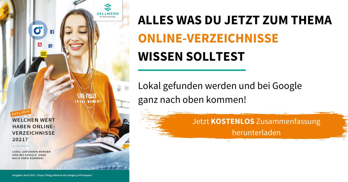 Whitepaper Onlineverzeichnisse