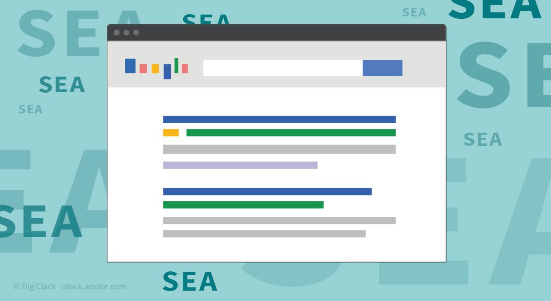 SEA Suchmaschinenmarketing: Definition & Erklärung