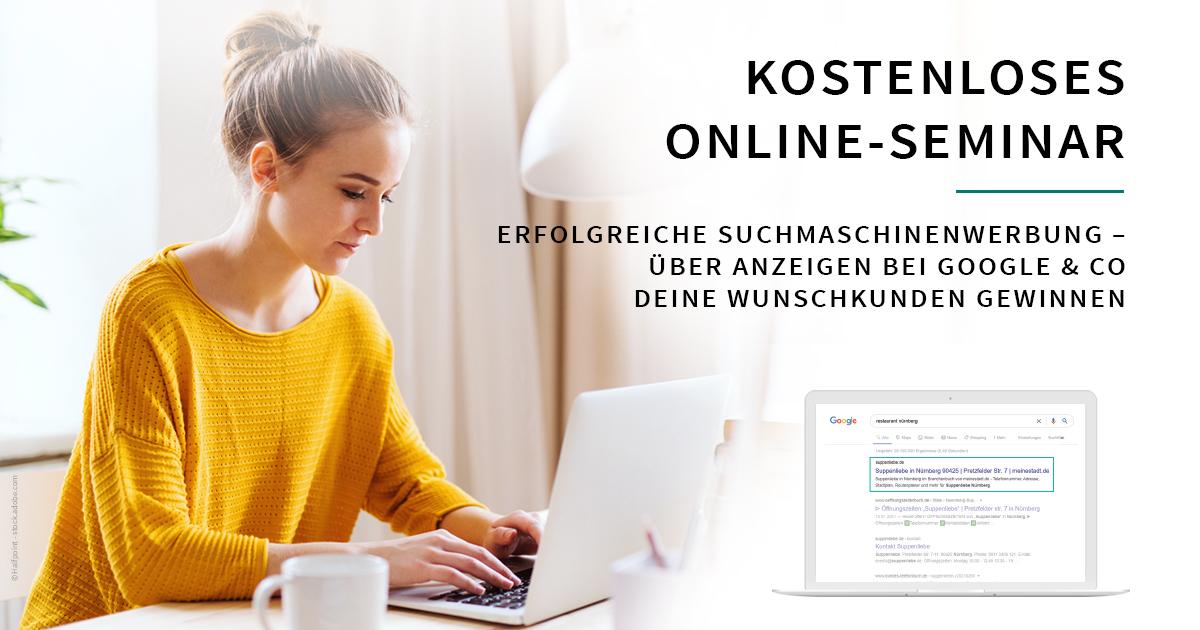 Online Seminar: SEA – Erfolgreiche Suchmaschinenwerbung